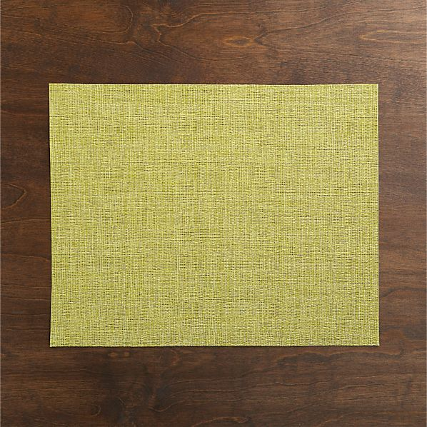 Chilewich® Crepe Citron Placemat