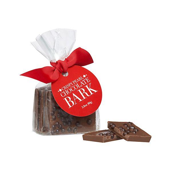 Crispy Pearl Chocolate Bark