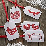5-Piece Critter Gift Tag Set