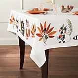 "Critters 54""x54"" Tablecloth"
