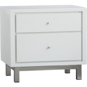 Cubix 2-Drawer Nightstand