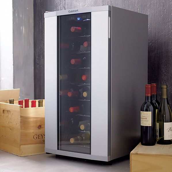 Cuisinart 174 32 Bottle Wine Cooler Crate And Barrel