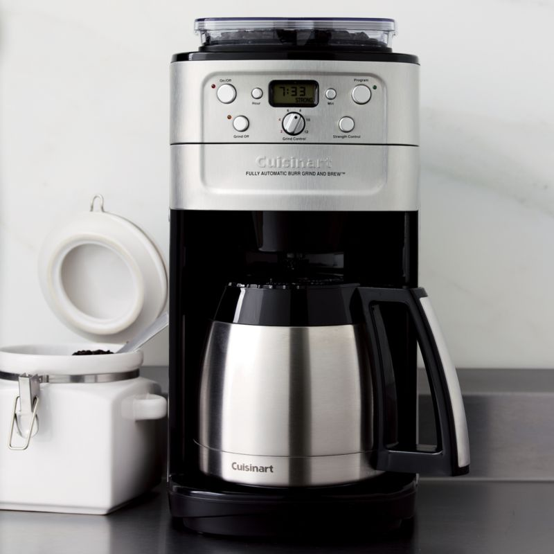 Coffee Maker Cuisinart Brew And Grind : Cuisinart Grind and Brew Thermal 12 Cup Coffee Maker Crate and Barrel