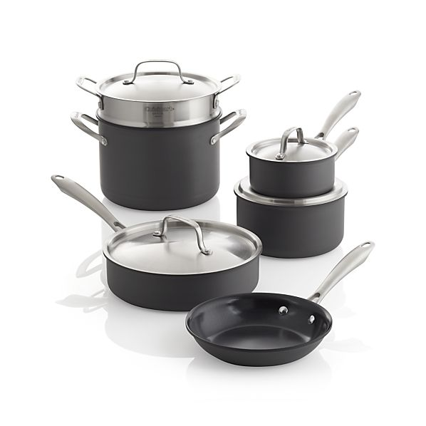 Cuisinart® Green Gourmet 10-Piece Cookware Set