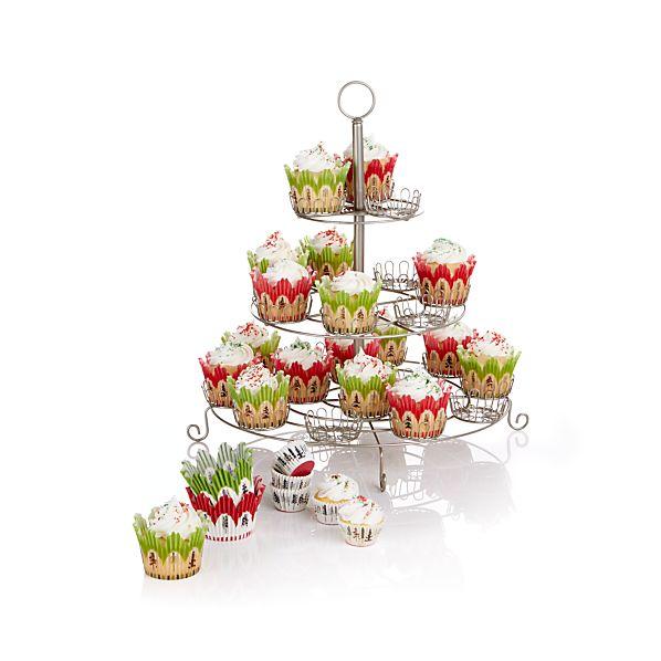 CupcakeStand3TierSilverF14
