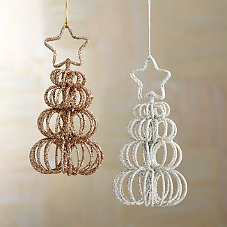 Curl Tree Placecard Holders-Ornaments