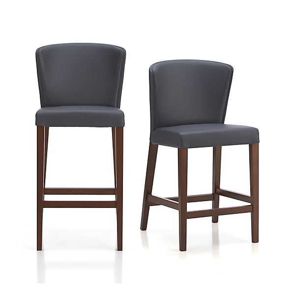 Curran Grey Bar Stools
