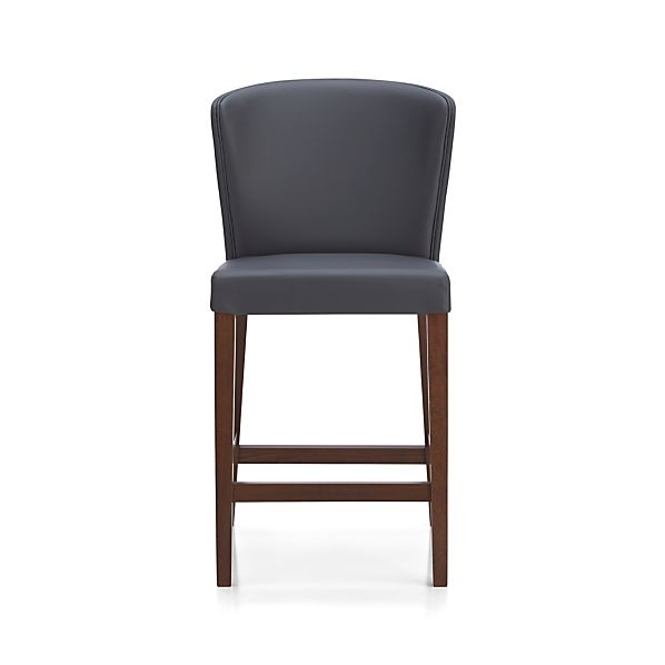 "Curran 24"" Grey Counter Stool"