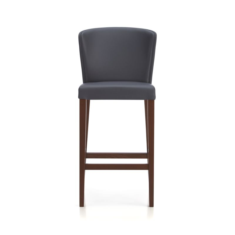 Curran 30 Grey Bar Stool Crate And Barrel