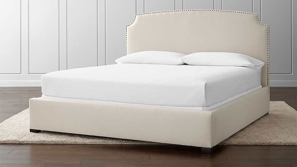 Curve King Bed