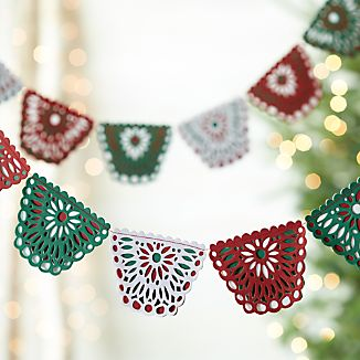 Cut-Paper Flag Garland
