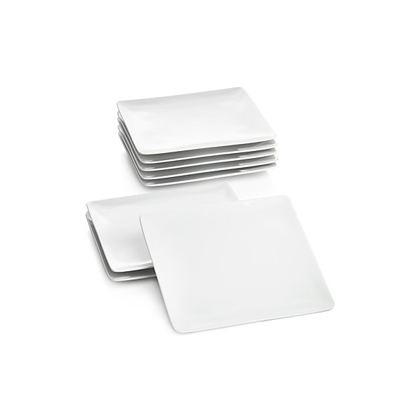 Set of 8 Cyd Salad Plates