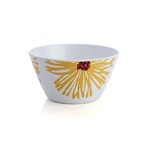 Daisy Melamine Bowl