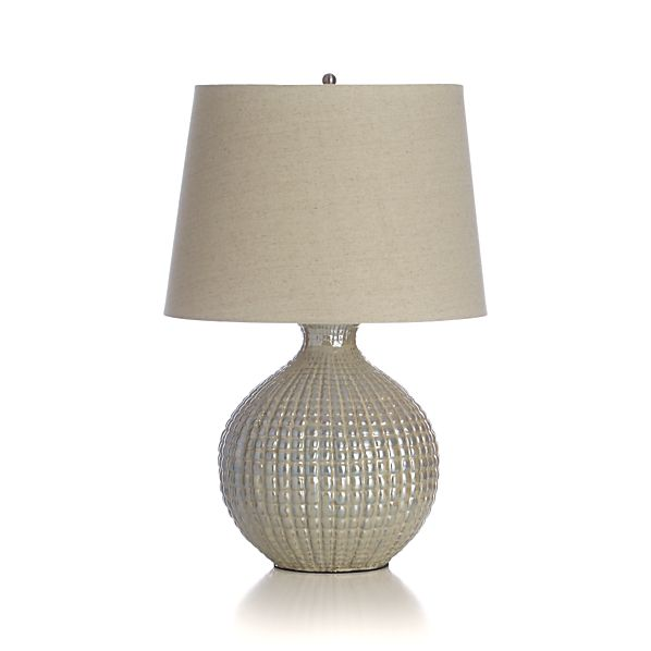 Boka lime table lamp in table desk lamps crate and barrel