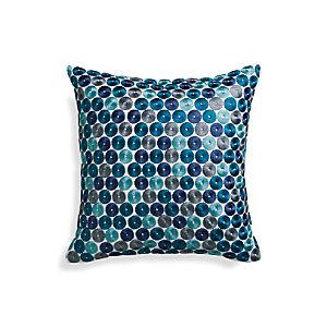 "Dara Blue 16"" Pillow"