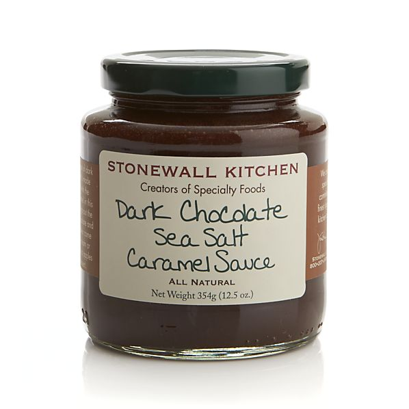 Stonewall Kitchen Dark Chocolate Sea Salt Caramel Sauce