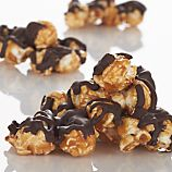 Dark Chocolate Toffee Corn with Salt