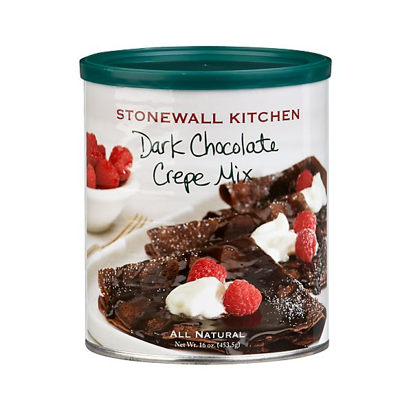 Stonewall Kitchen Dark Chocolate Crepe Mix