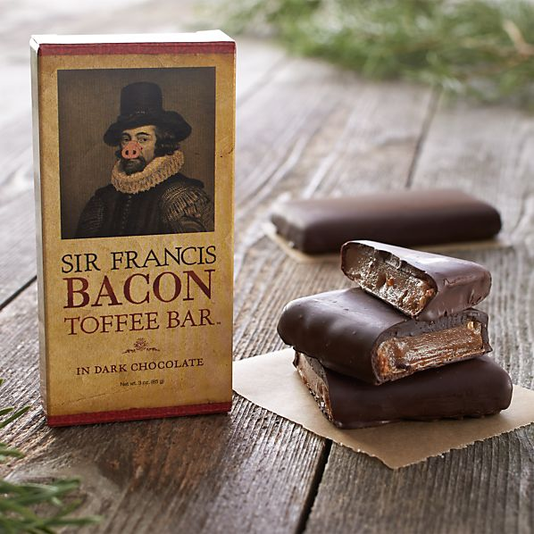 Sir Francis Bacon Dark Chocolate Toffee Bar