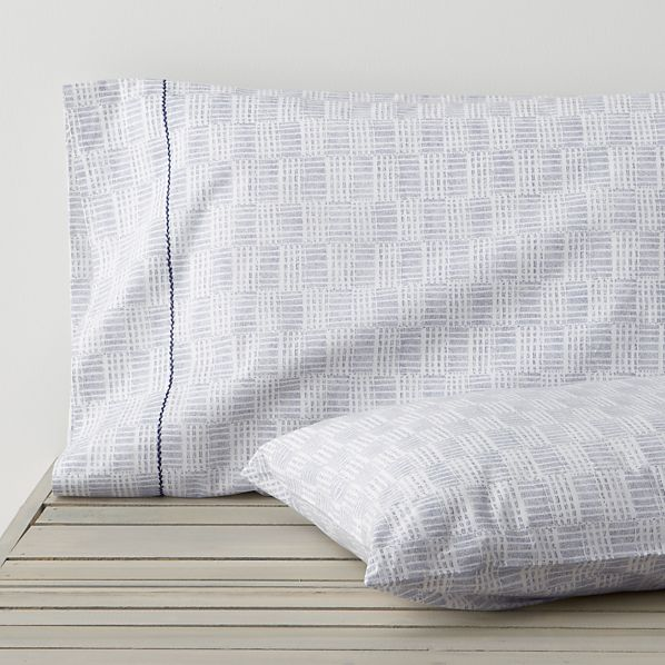 Set of 2 Dash Standard Pillowcases