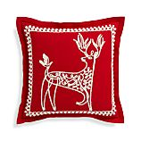 "Dasher 18"" Pillow with Feather-Down Insert"