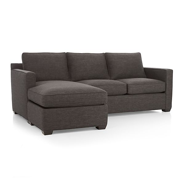 Davis 3 Seat Lounger Graphite Crate And Barrel