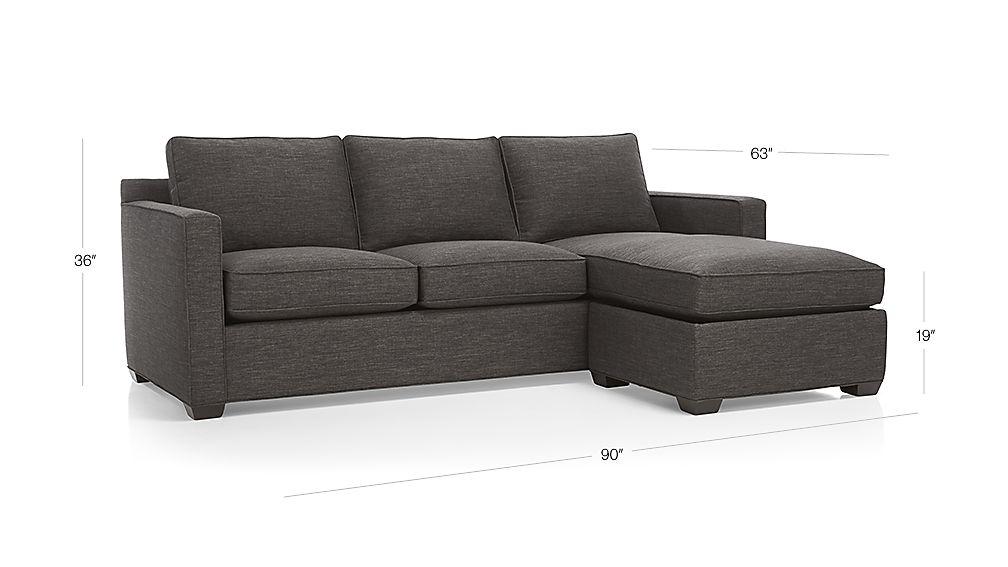Davis 3-Seat Lounger Dimensions