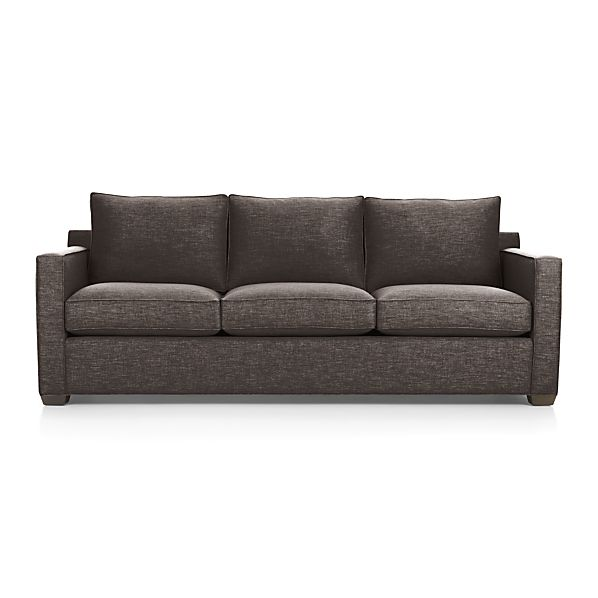 Davis 3 Seat Sofa Mink Crate And Barrel