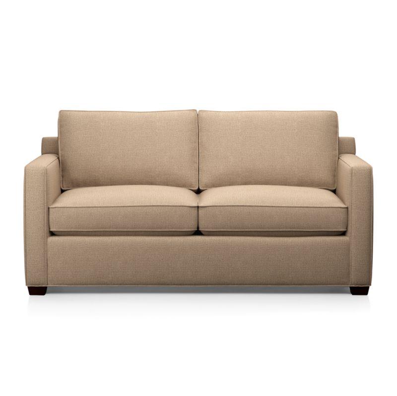 davis sleeper sofa mink crate and barrel