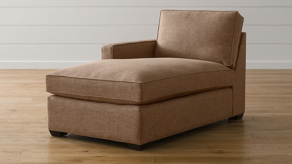 Davis Left Arm Chaise Lounge