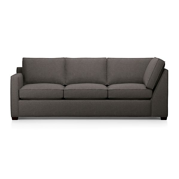 Davis Left Arm Sectional Corner Sofa