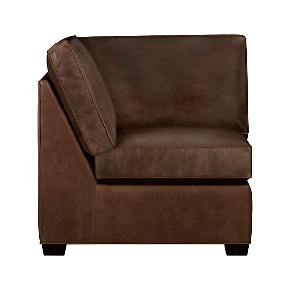 Davis Leather Sectional Corner