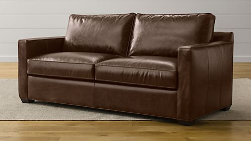 Davis Leather Sofa