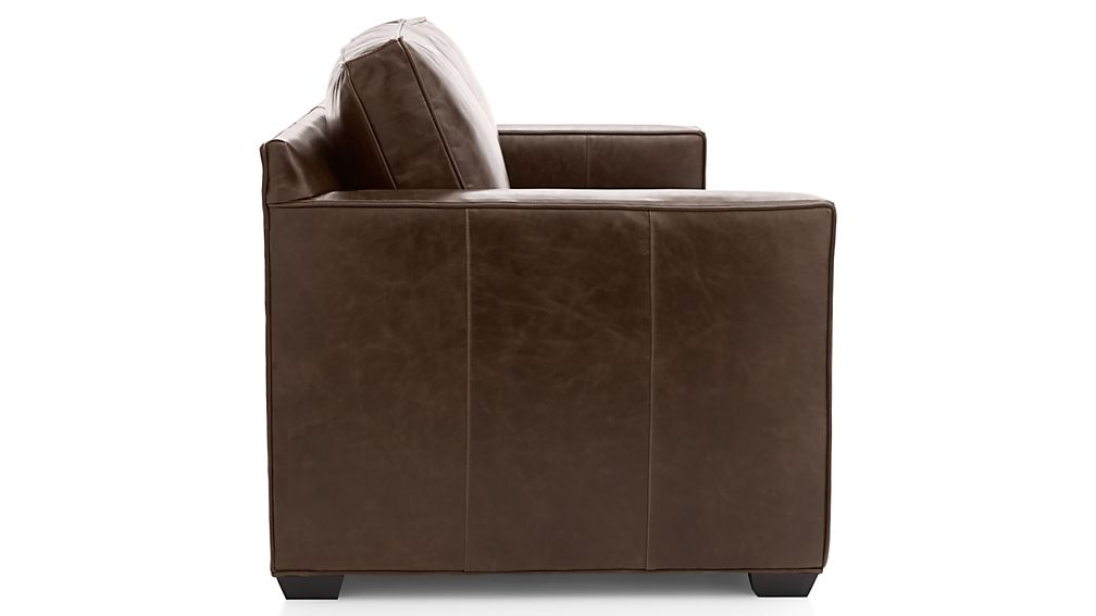 Davis Leather Queen Sleeper Sofa