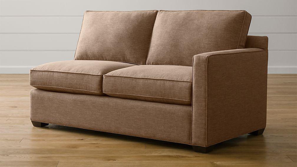 Davis Right Arm Full Sleeper Sofa