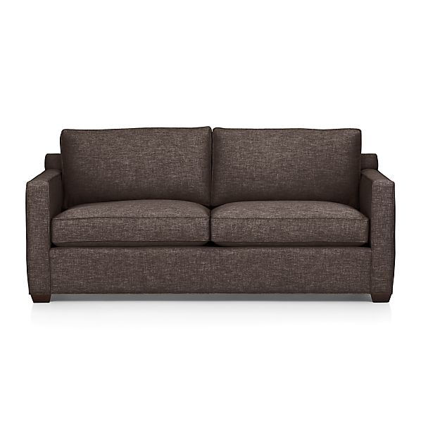 Davis Queen Sleeper Sofa Graphite Crate And Barrel