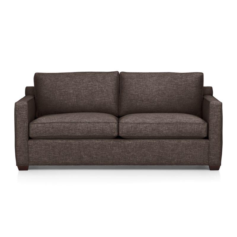 Davis Queen Sleeper Sofa Graphite Crate And Barrel