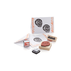 Day of the Dead Stamp Kit