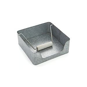 Decker Galvanized Napkin Holder