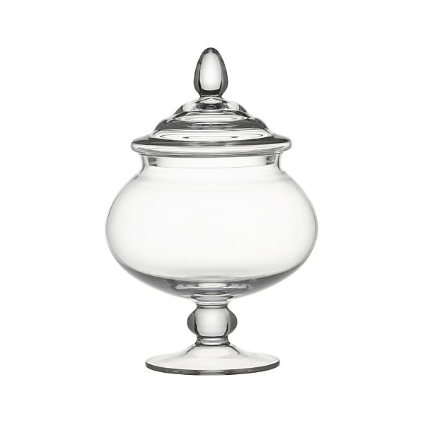 Delfina Short Covered Jar