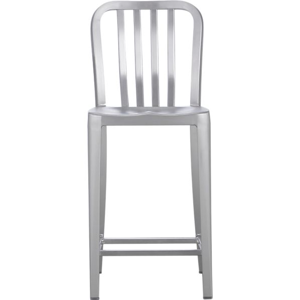 "Delta 24"" Aluminum Bar Stool"