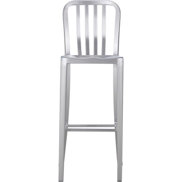 Delta Aluminum Bar Stool In Bar Stools Crate And Barrel