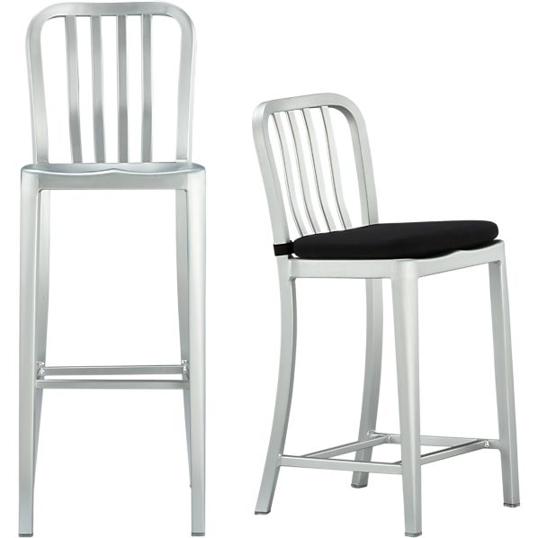 Delta Bar Stools And Cushion Crate And Barrel