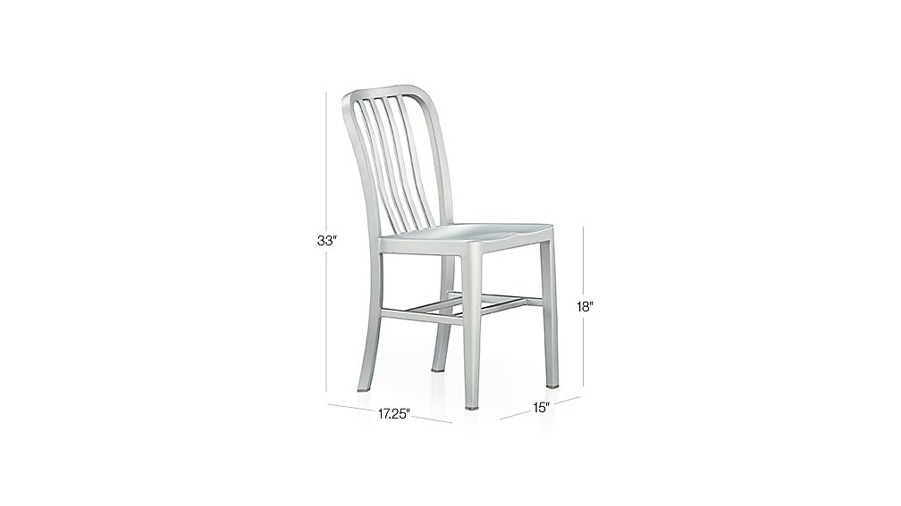 Delta Metal Dining Chair Dimensions