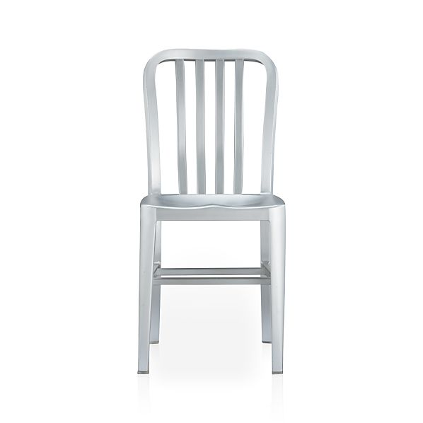 Delta Metal Dining Chair In Dining Chairs Crate And Barrel