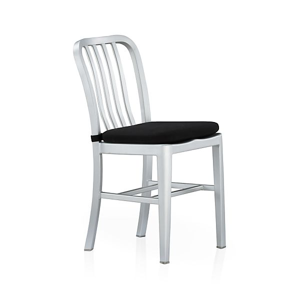Delta Black Chair Bar Stool Cushion Crate And Barrel