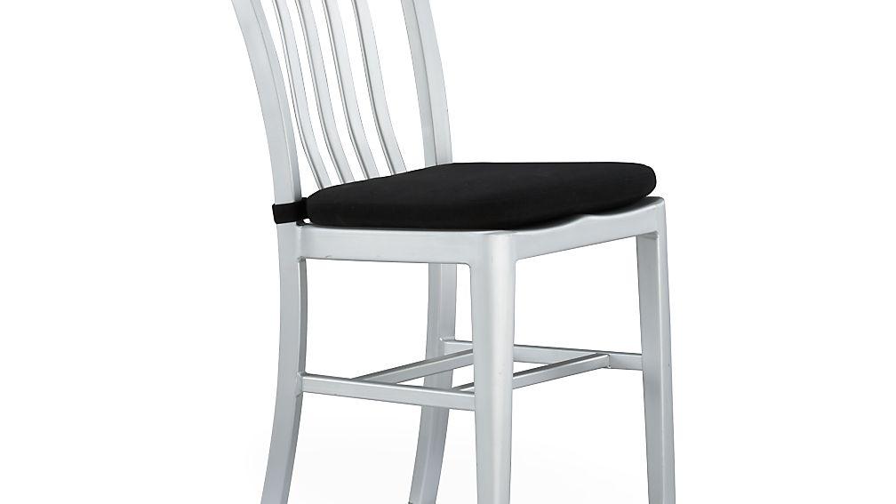 delta black chair bar stool cushion crate and barrel