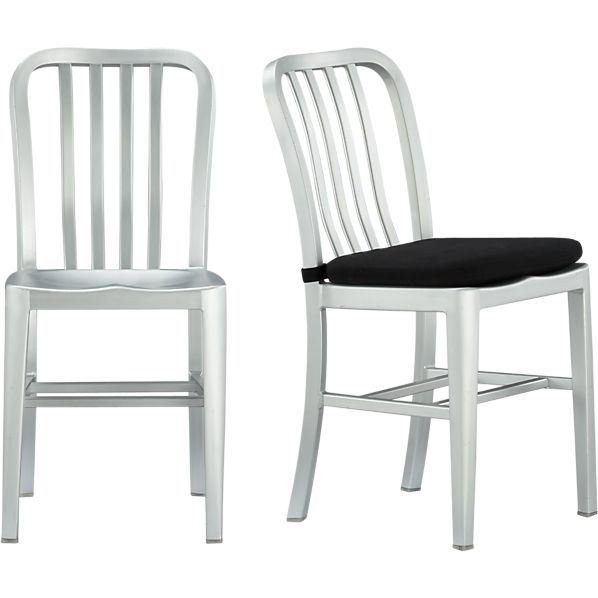 Delta Side Chair And Cushion Crate And Barrel