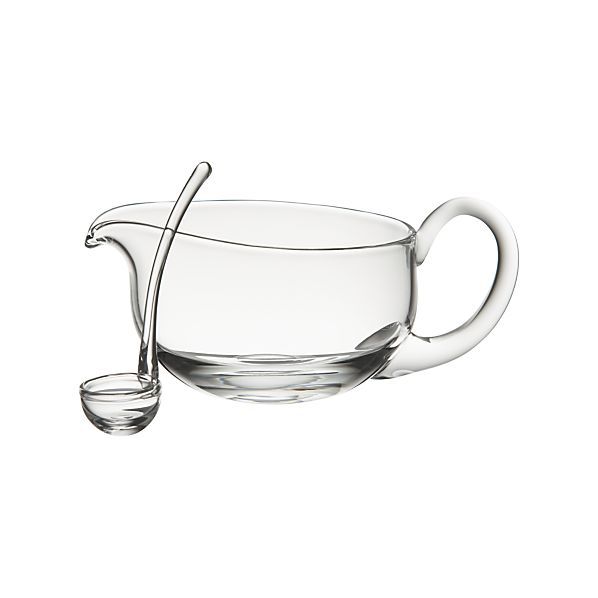 Deluxe Gravy Boat with Ladle