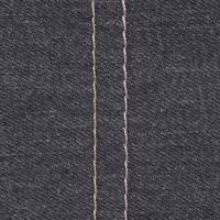 Denim Charcoal: with Contrast Topstitching
